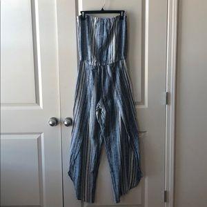 Drew Strapless Jumpsuit